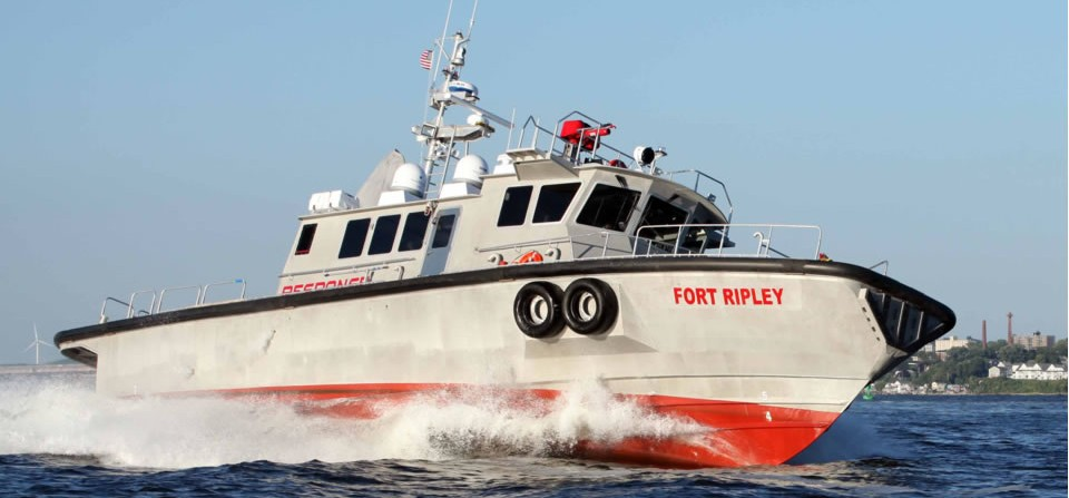 1st high-speed ocean response vessel